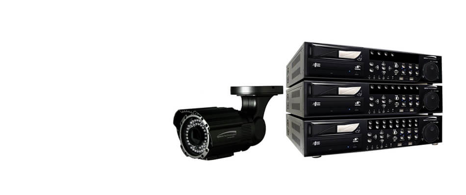 home security racks and cameras