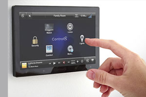 building automation wall mount touchscreen