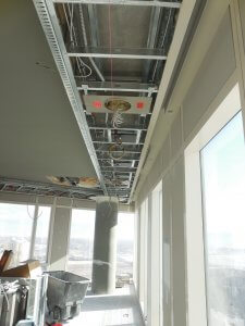 Lighting Install in High Rise
