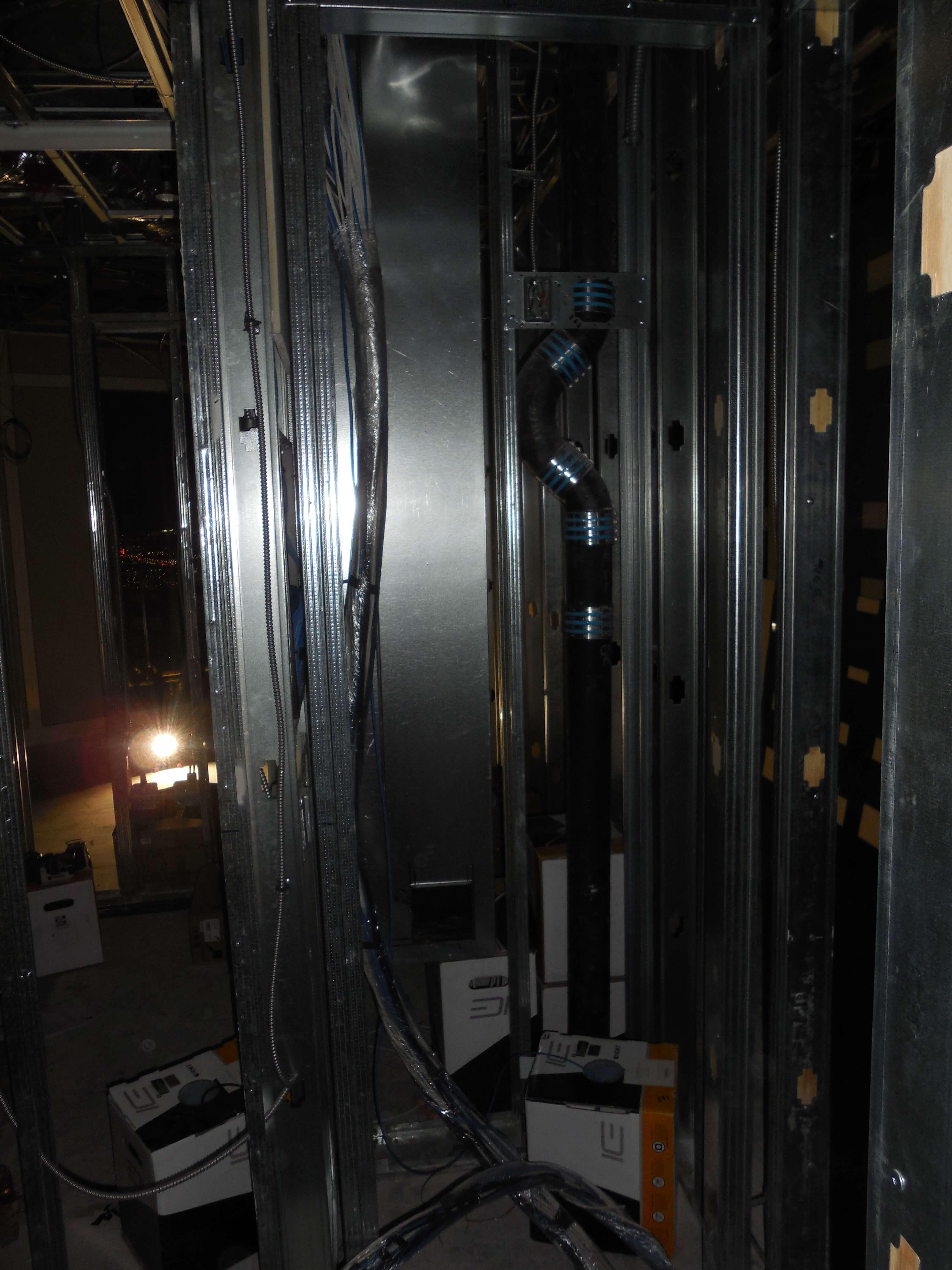 Equipment Rack Closet