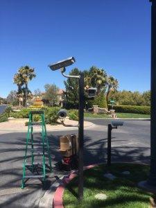 Security Camera Install in Neighborhood