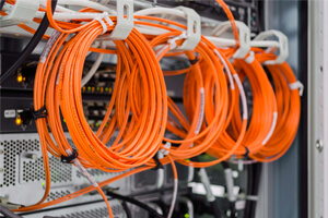 fiber optic cabling installation
