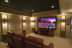 home theater installation tv entertainment center