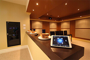building automation business conference room