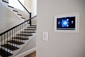 home automation systems touchscreen hub