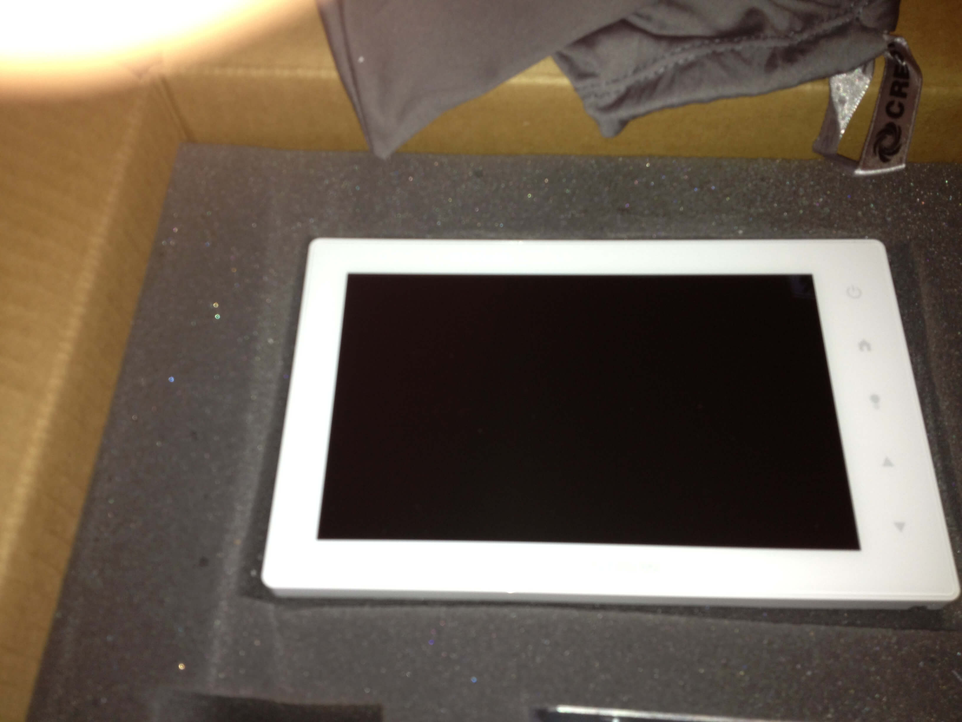 Crestron Touch Screen Panel (In With The New)